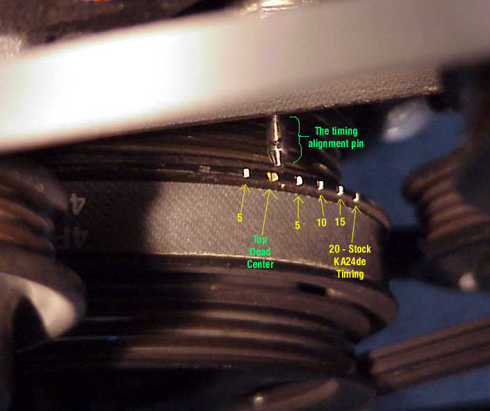 240sx Distributor Timing