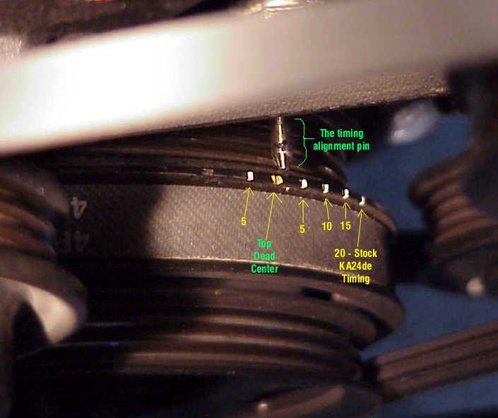 240sx Distributor Timing