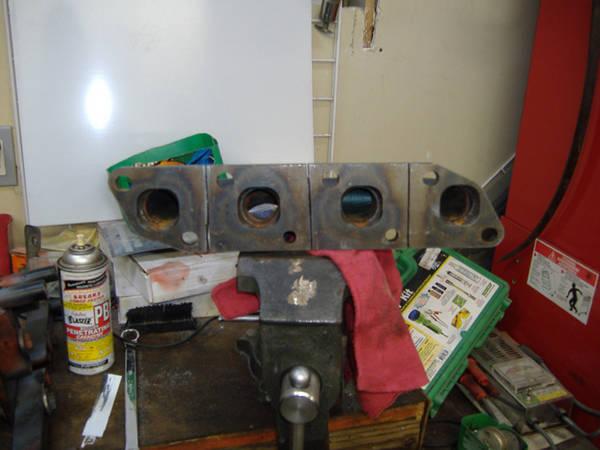 Nothing the turbo manifold
