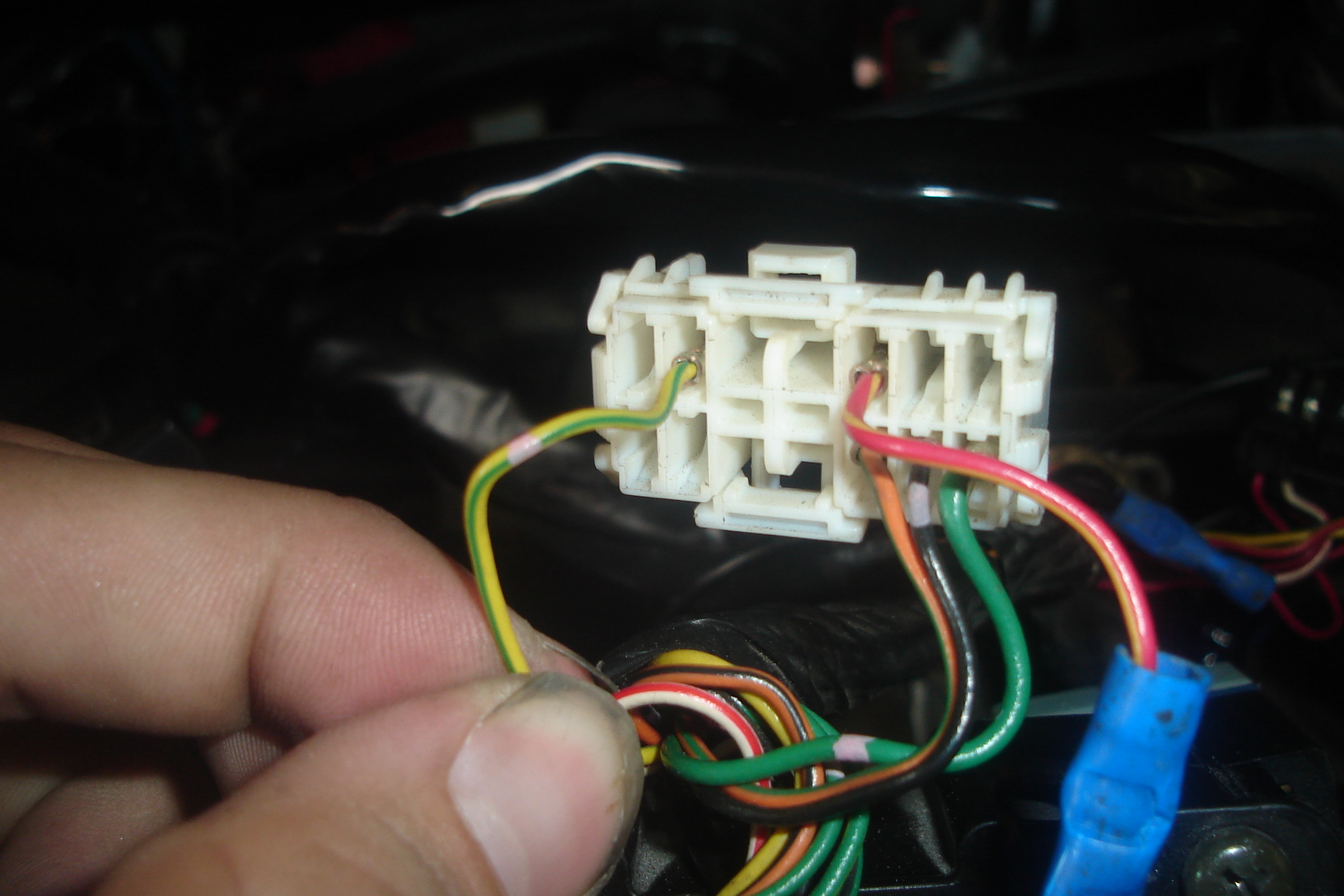 Connecting wires for HKS Turbo Timer