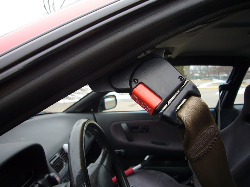 how to fix a cut seat belt