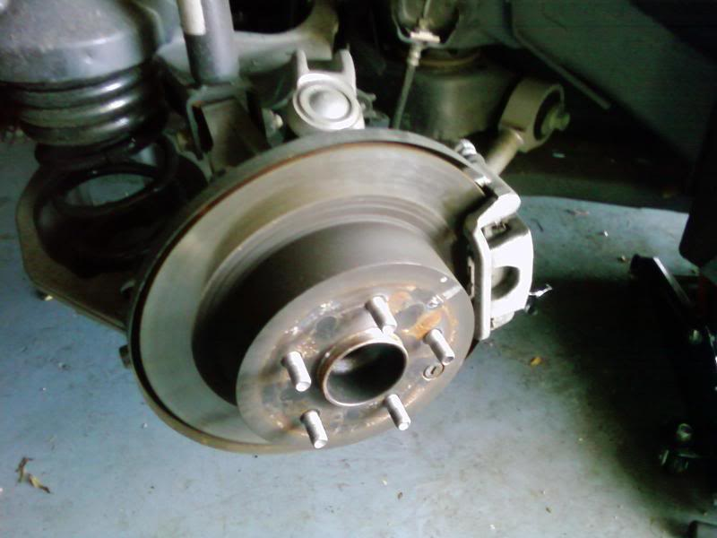 Nissan Altima How To Replace Front & Rear Rotors