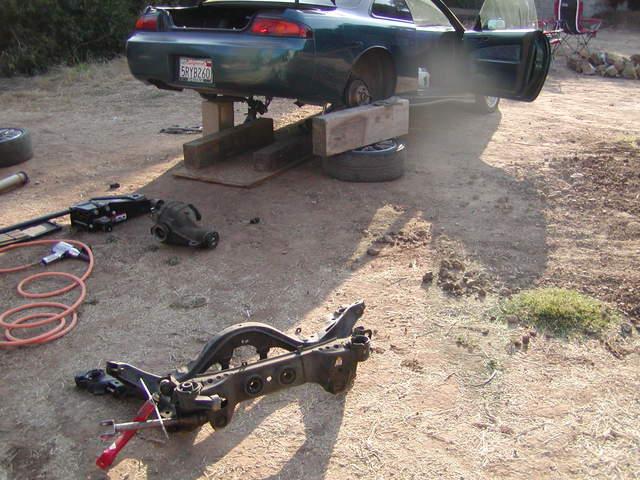 S14 Rear Subframe Bushing Replacement Write Up Finally