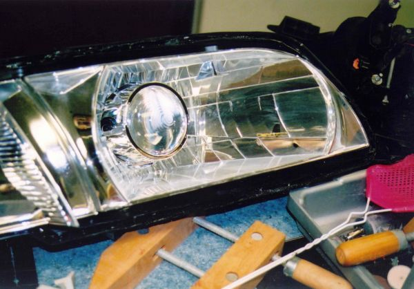 Infiniti Q45 Projector Headlight Retrofit
