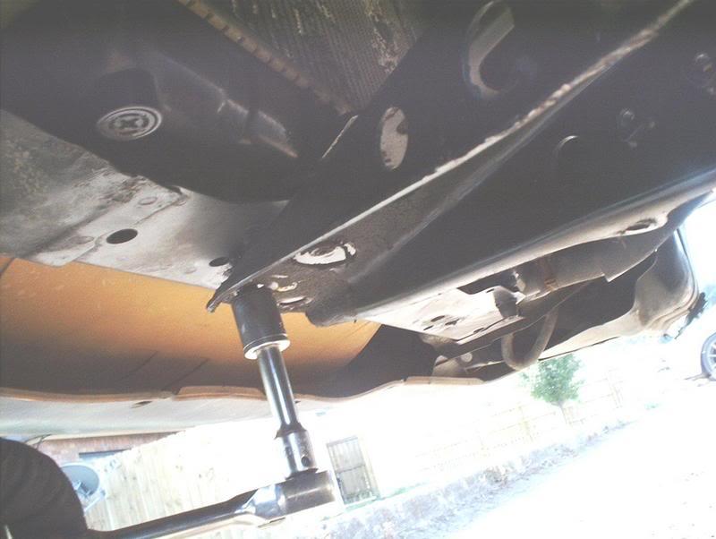 S13 Installing Nismo Power Brace