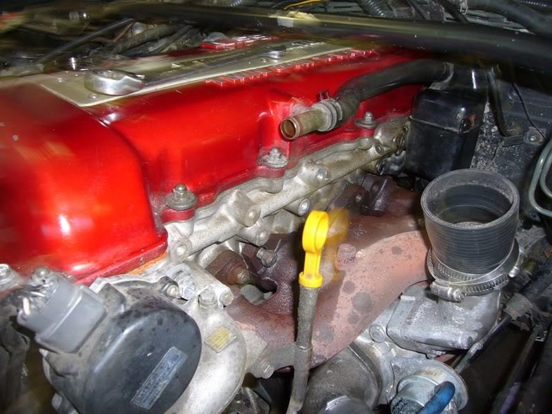 SR20 Bottom Mount Turbo Manifold Install