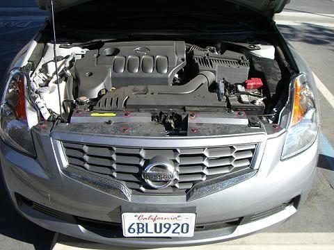 pics for Altima Coupe Bumper Removal