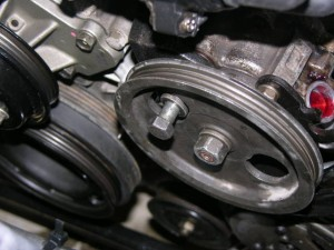 Power steering pump removal/replacement 6