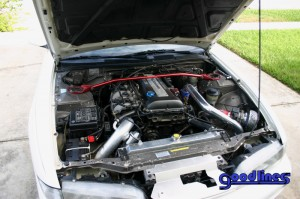 SR20DET Engine Bay View