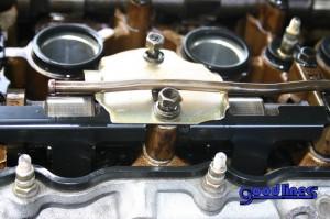 SR20DET modified oil baffle installed