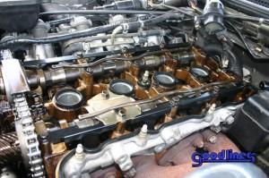 SR20DET modified oil baffle installed 2