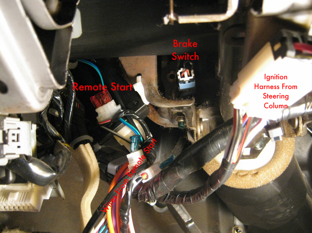 Basic Remote Start Walkthrough On Your Nissaninfiniti Vehiclerhnicoclub: Remote Starter Installation Locations At Gmaili.net