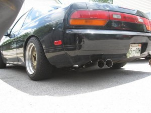 straight pipe 240sx catback