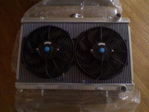 ISIS 240sx radiator