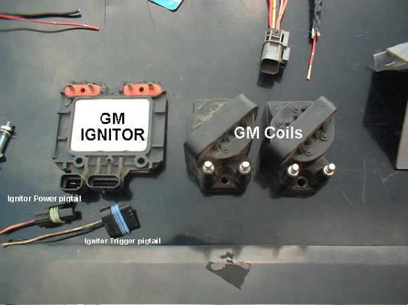 GM coils and ignitor