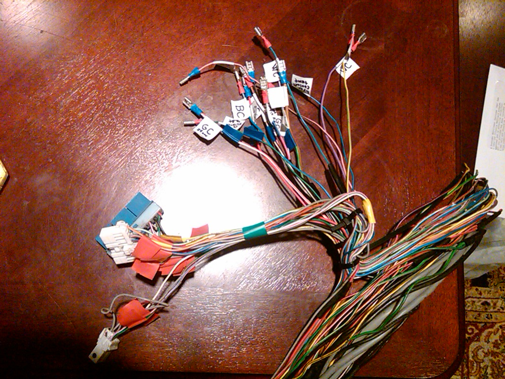 How To 1991 Vh45de 1990 S13 Wiring Rb25 Harness Then