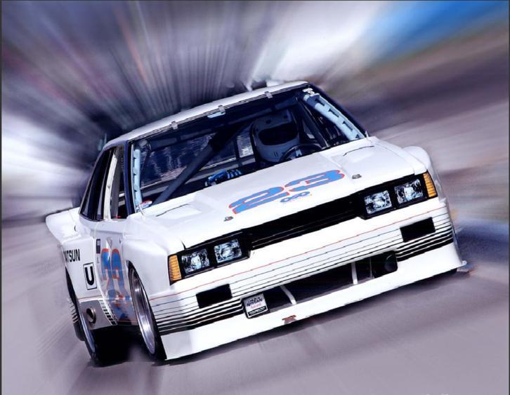 200sx IMSA GTU race car