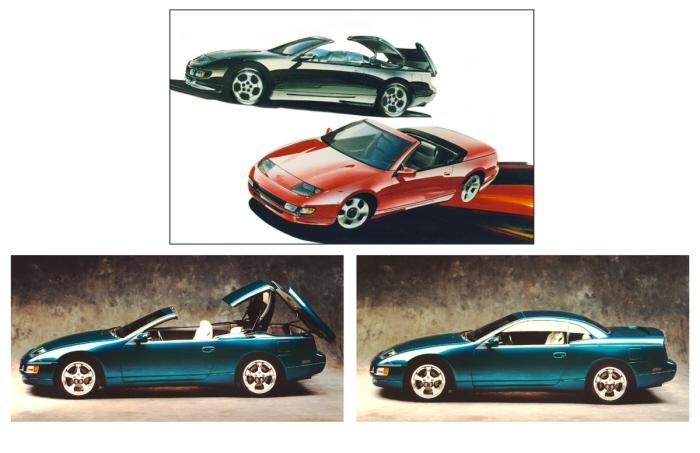 Nissan Z32 Spyder Concept