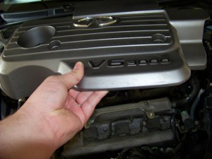 Lifting Engine Cover Nissan Maxima/Infiniti I30