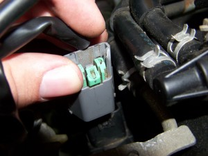 Reconnecting rear Ignition Coil Nissan Maxima/Infiniti I30