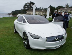 Etherea at Pebble Beach - backdrop of the Pacific Ocean