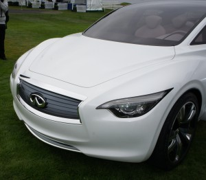 Front of the Infiniti Etherea