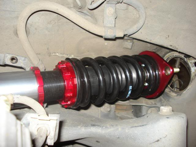 300ZX coilover installation