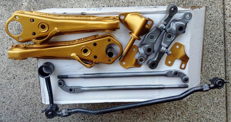 Datsun 510 front suspension parts