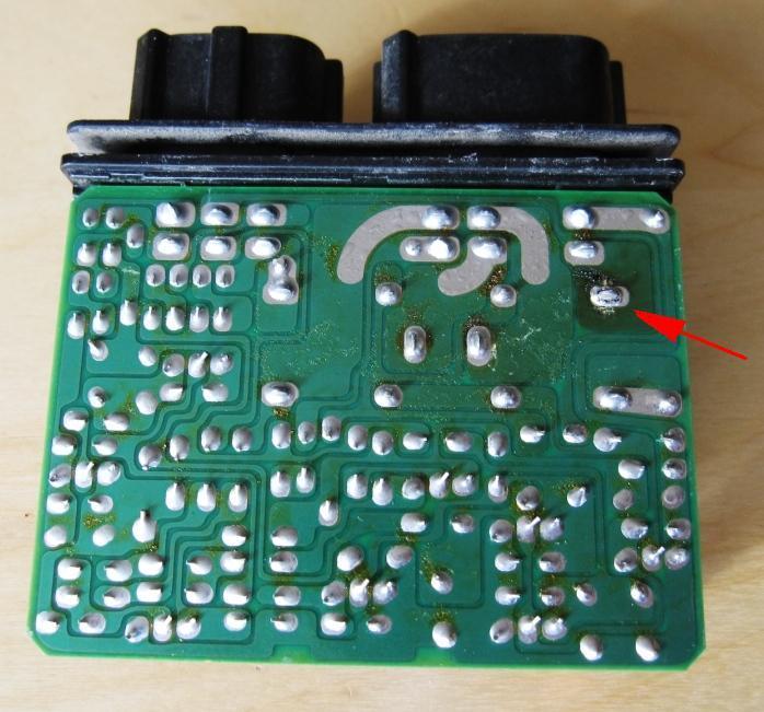 G35 canada DRL module solder