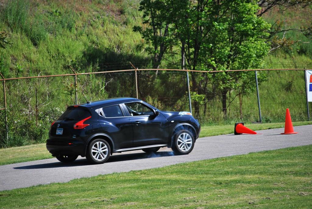 Nissan Juke autocross