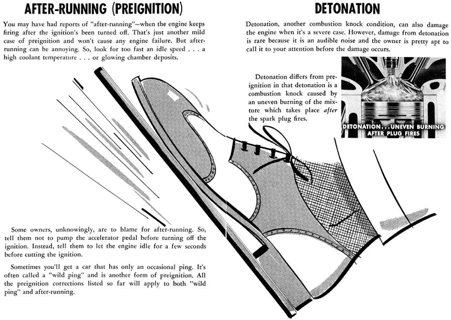 Preventing Detonation and Preignition