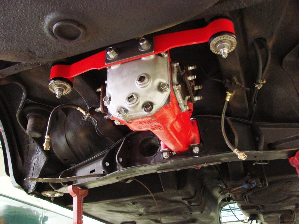 Datsun 510 rear suspension