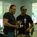 Shawn takes home the Matt Kempe Spirit Award