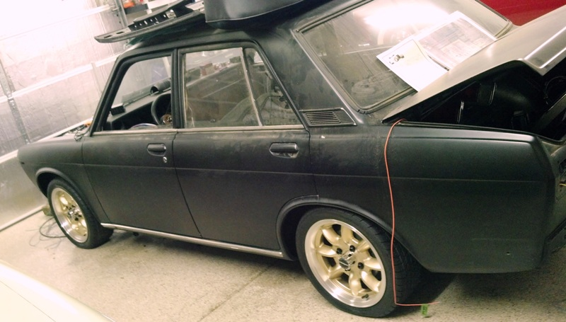 Restoring a 1968 Datsun 510 Sedan - Wiring with a universal ... on