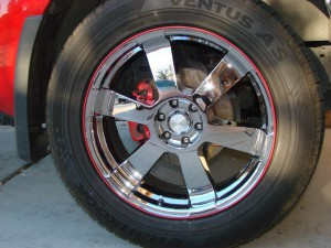 Defend Against Alloy Wheel Curb Rash with Wheel Bands – Installation