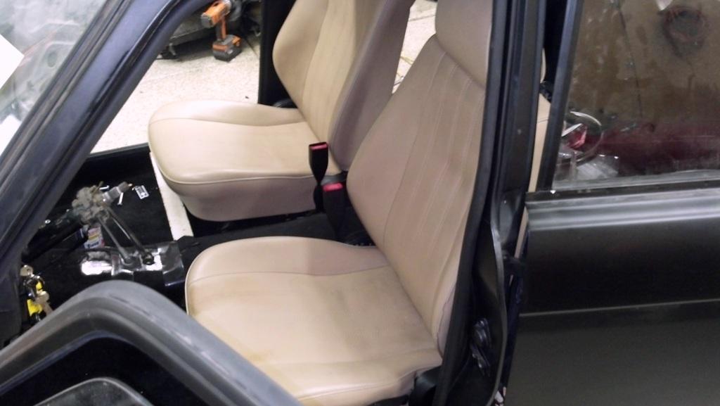 Restoring a 1968 Datsun 510 Sedan - Part 8 - Seats and Wiring