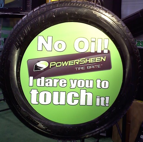 how to select a tire dressing powersheen