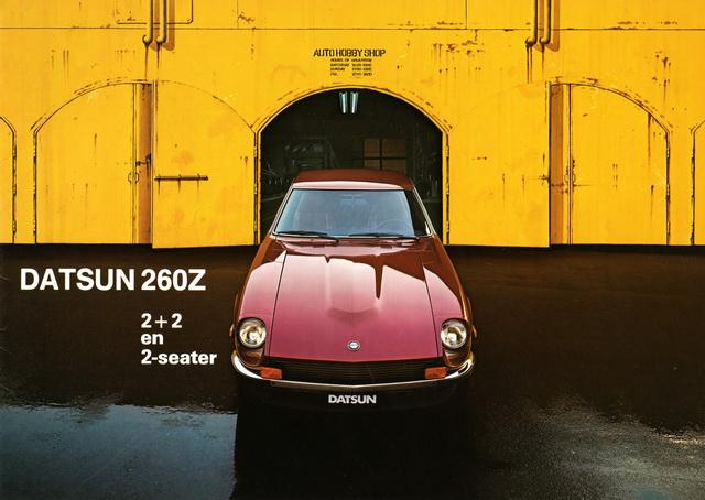 Datsun Z Advertising - 240Z / 260Z / 280Z / 280ZX