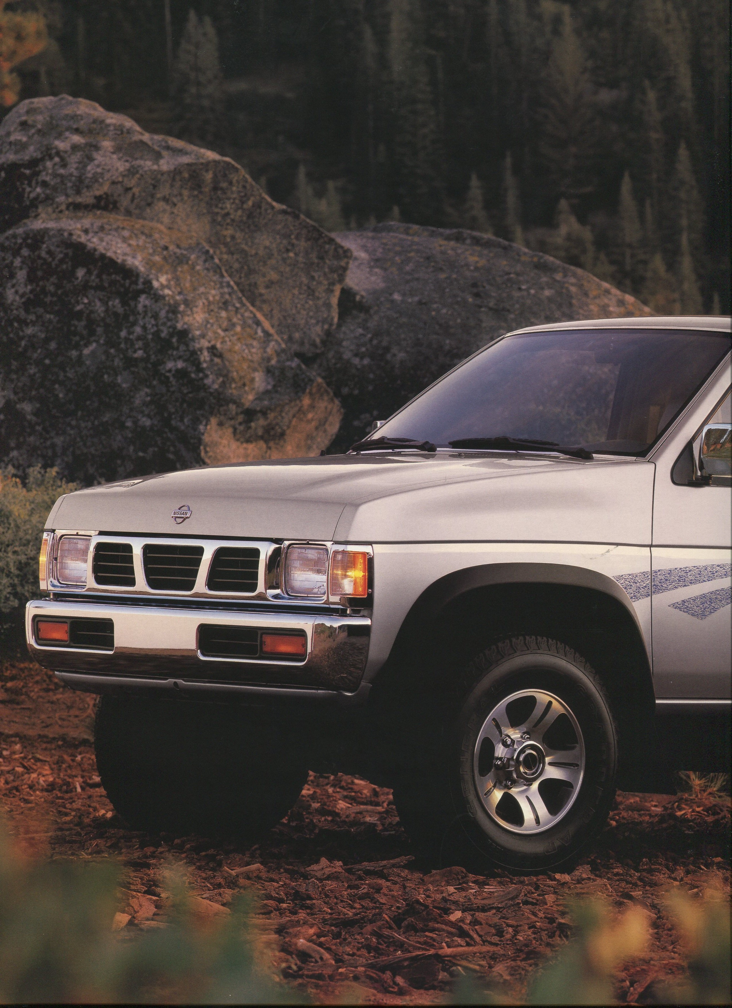1996 Nissan Hardbody Dealer Brochure