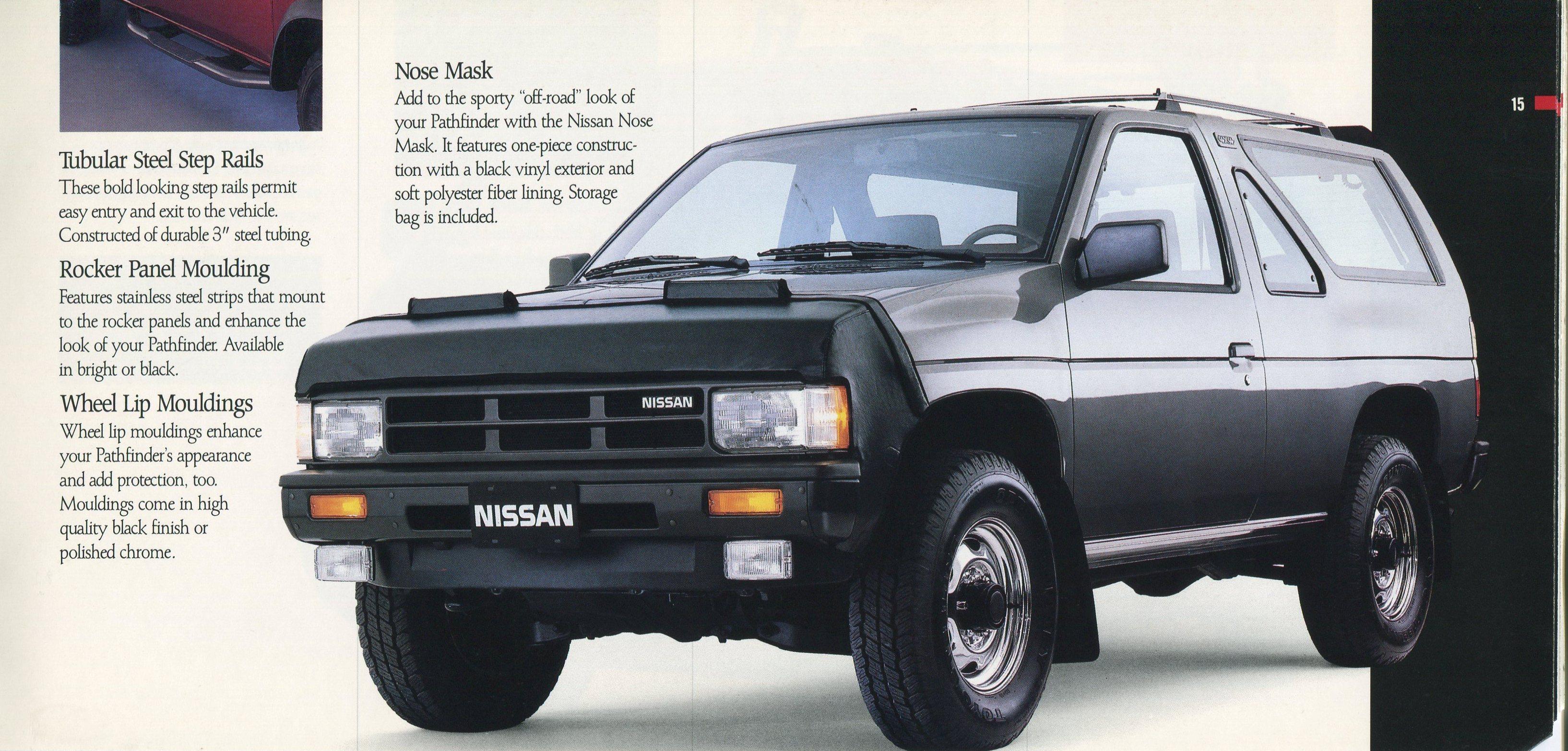 1988 Nissan Trucks Genuine Accessories Brochure Nicoclub