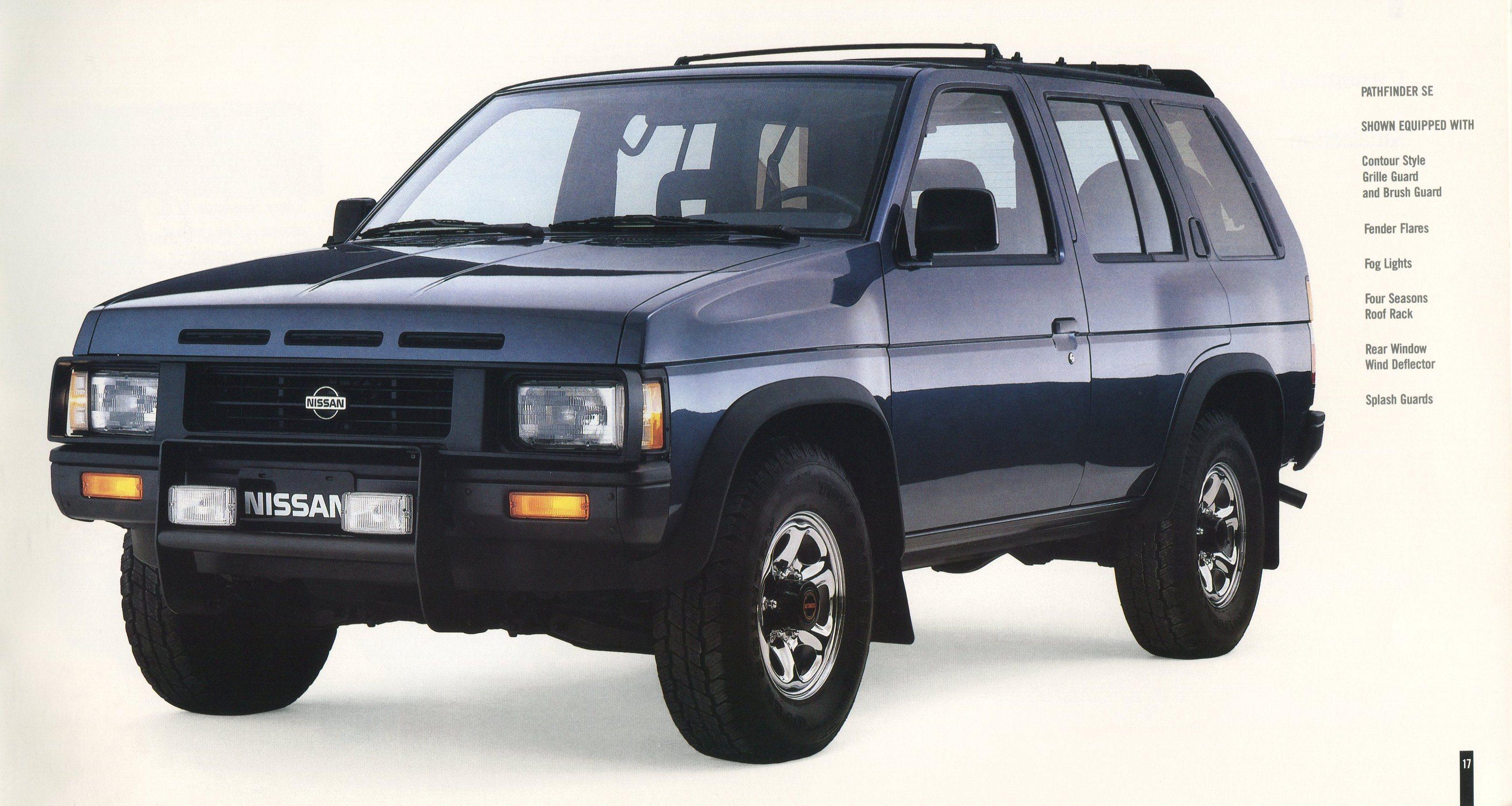 1991 Nissan Trucks Genuine Accessories Brochure Nicoclub
