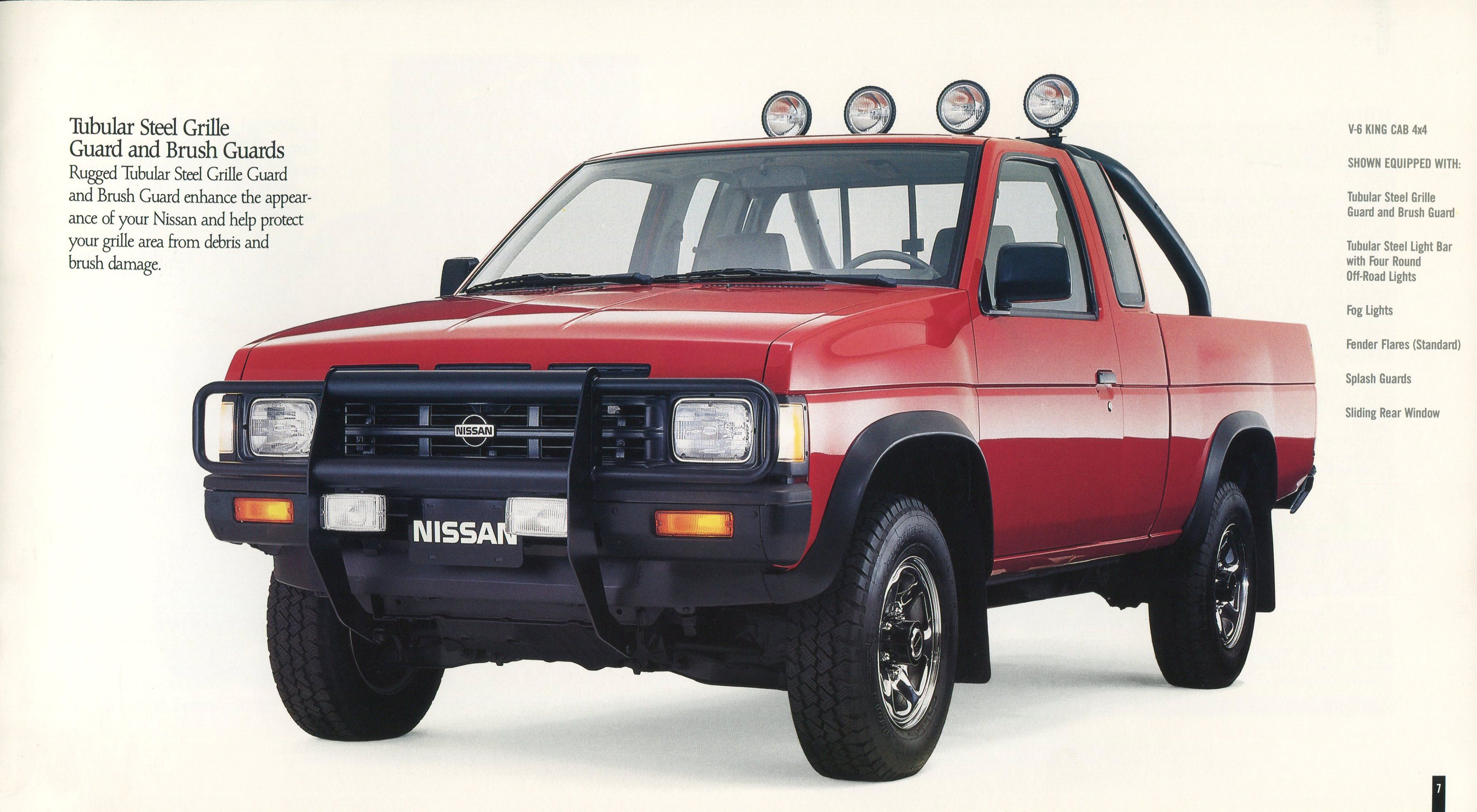1989 Nissan Pickup Car Interior Design