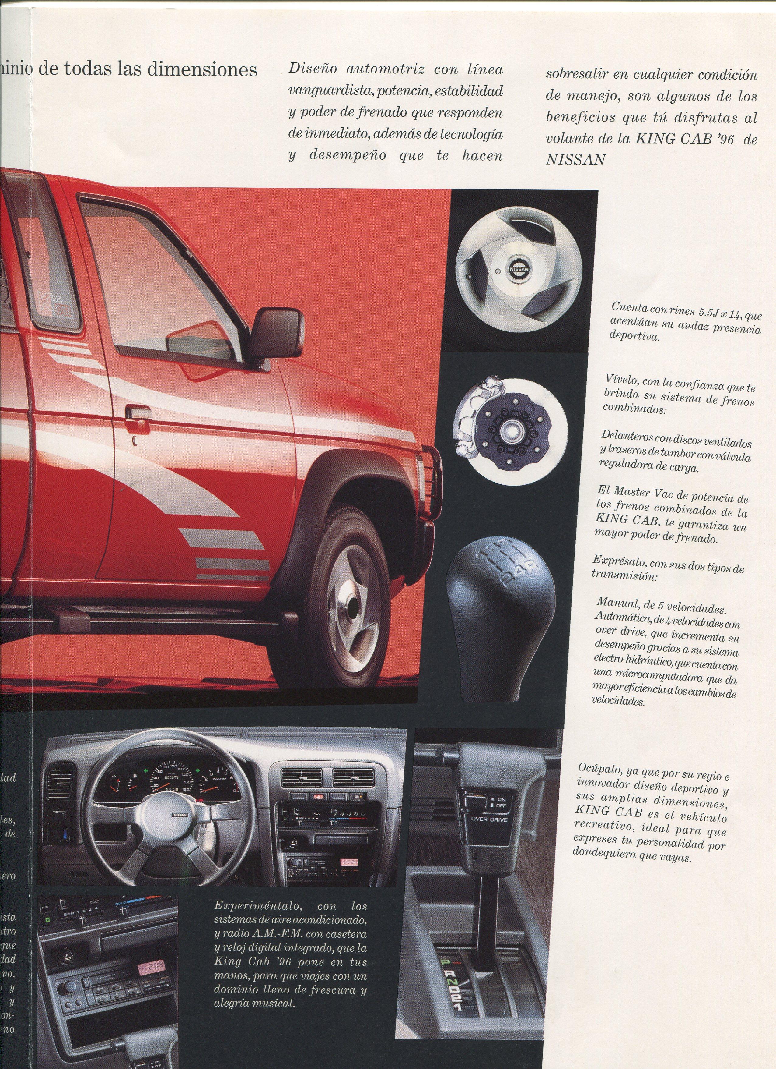 Best Car Wax >> Nissan D21 King Cab Pickup Dealer Brochure for Mexico - NICOclub