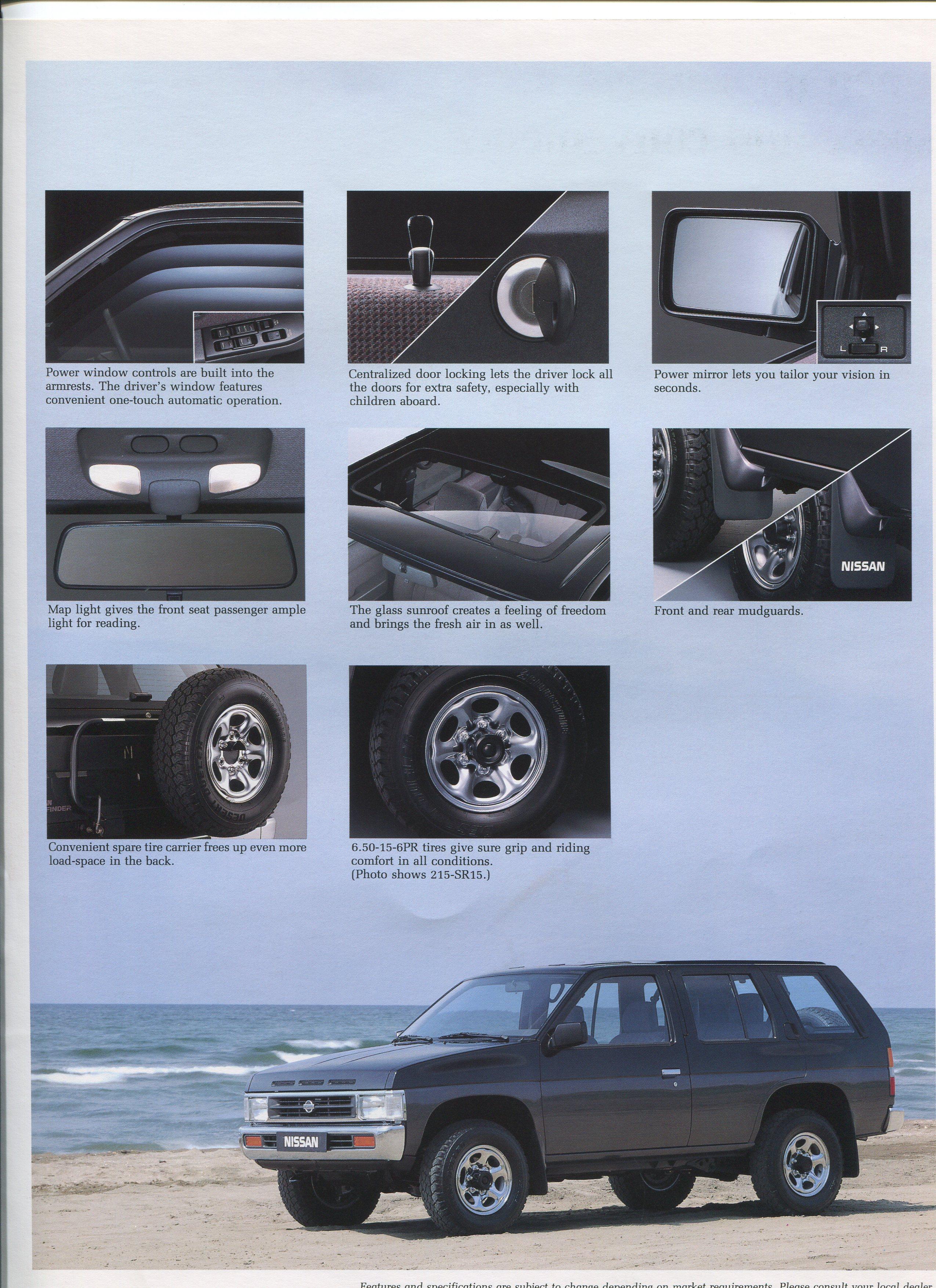 Nissan D21 Pathfinder Brochure For Non Us Market Nicoclub
