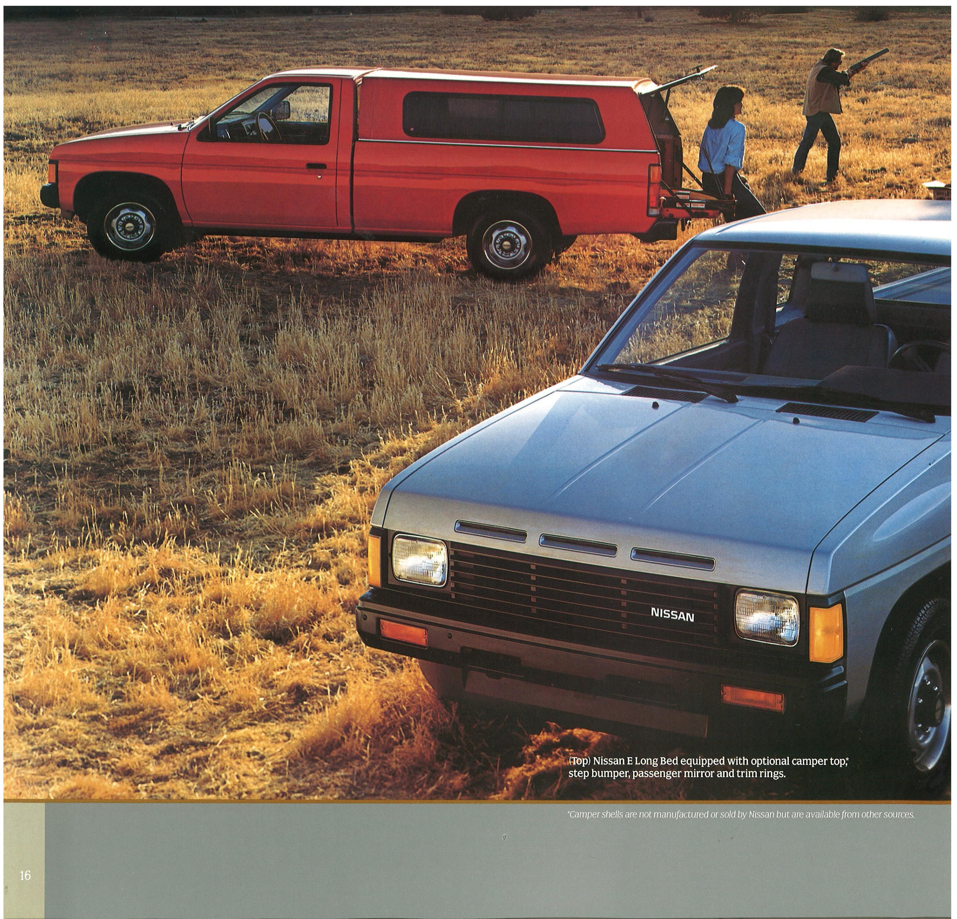 1987 Nissan Hard Truck D21 Dealer Brochure - US Market - NICOclub