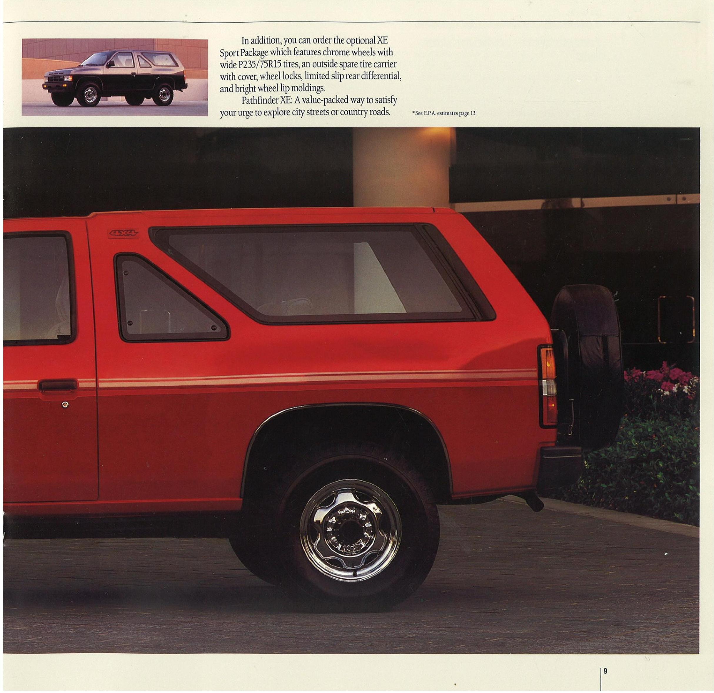 1988 Nissan Pathfinder Dealer Brochure - NICOclub
