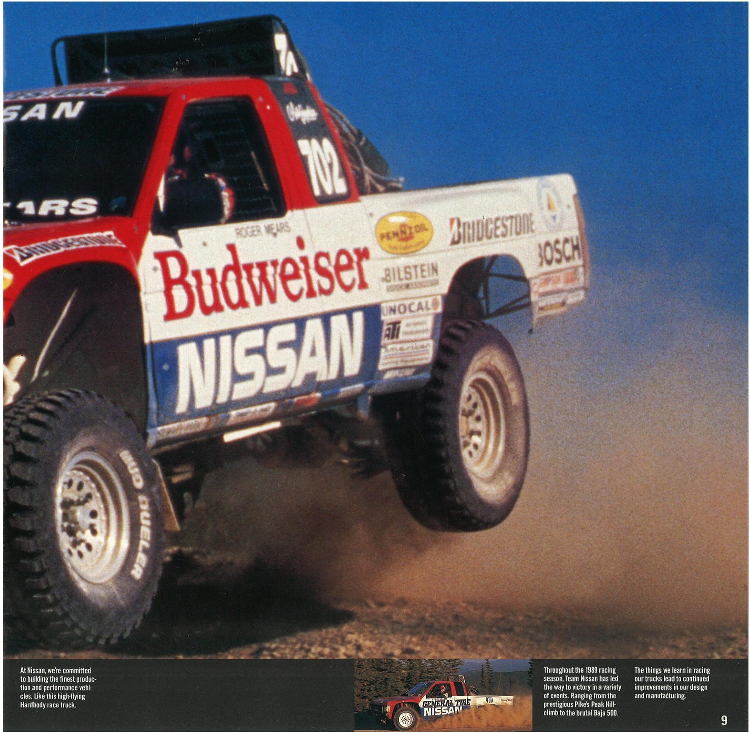 1990 Nissan Hardbody Trucks Dealer Brochure Nicoclub