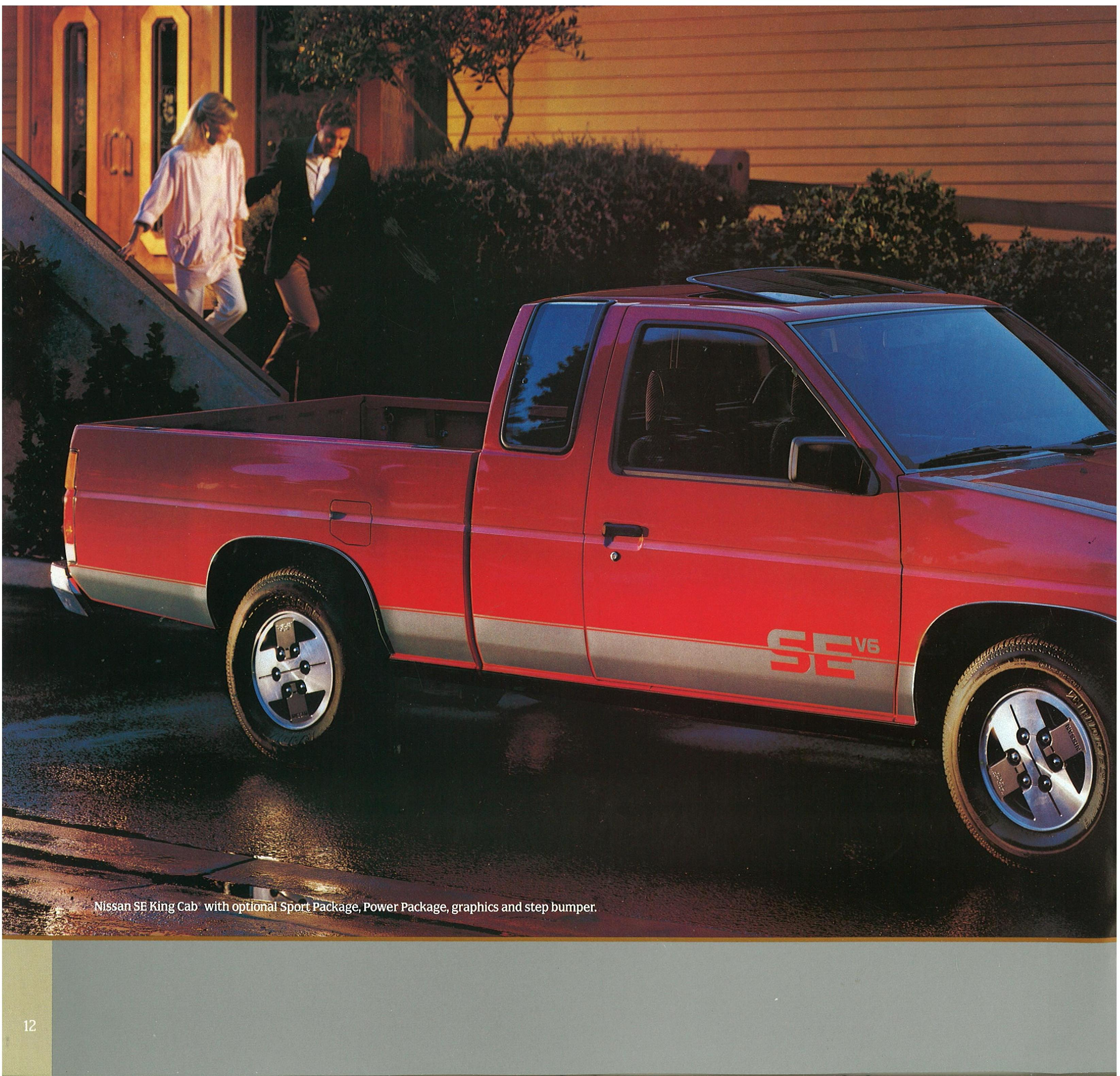 1986.5 Nissan Hard Trucks Brochure