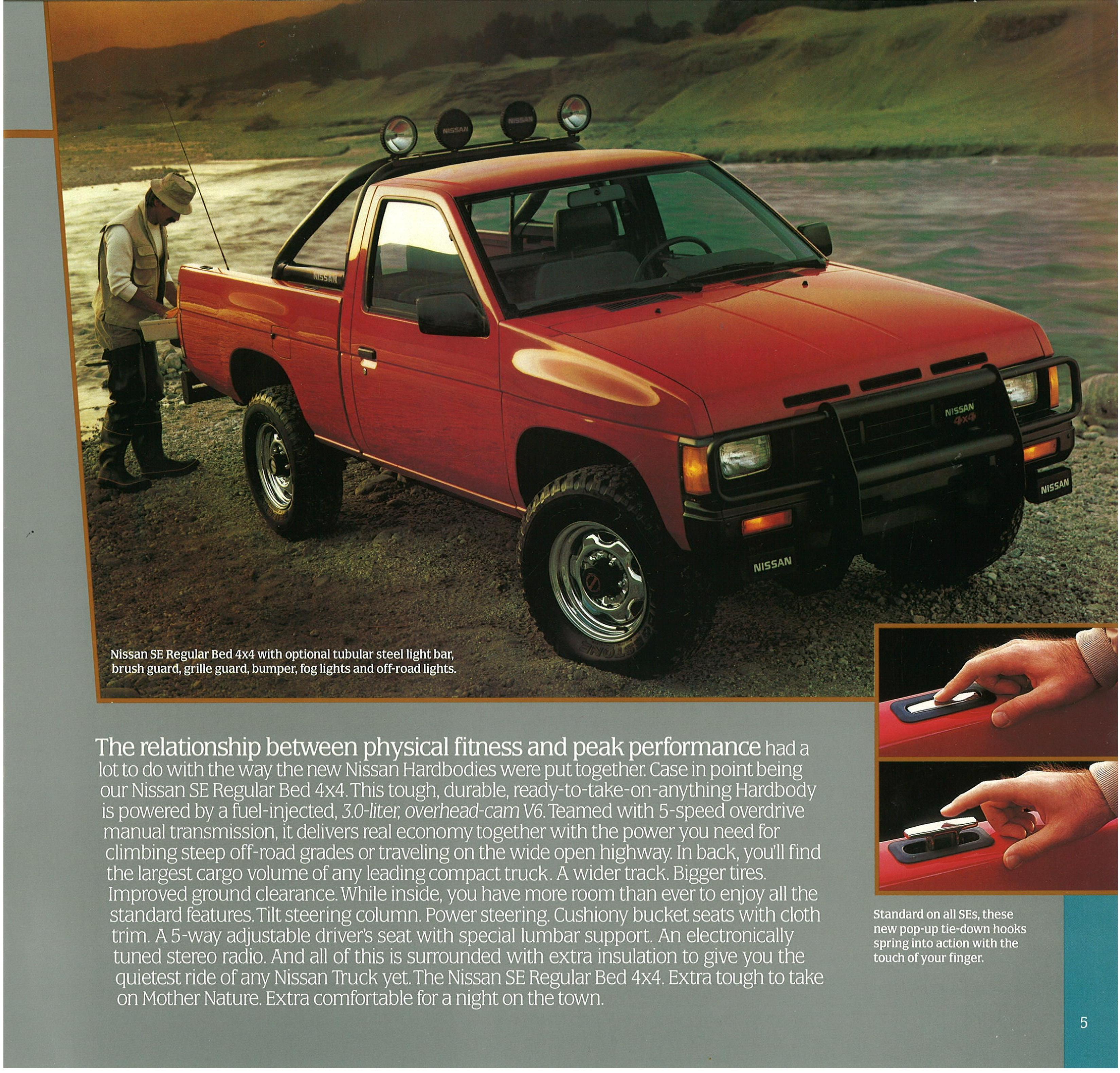 1986 5 Nissan Hardbody Trucks Brochure