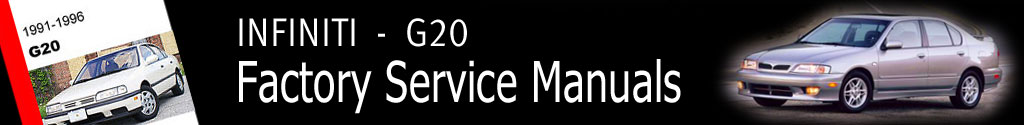 Infiniti G20 Factory Service Manual